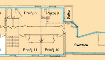 Pokój 4 WIlla Kinga - Pokoje w centrum Krościenka